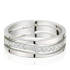 Alliance or blanc diamant  Jenny