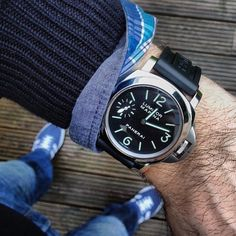 This combo works perfectly with the on the rubber strap pic by Best Looking Watches, Best Watches For Men, Luxury Watches For Men, Cool Watches, Men's Watches, Luminor Watches, Panerai Luminor, Panerai 111, Audemars Piguet Royal Oak