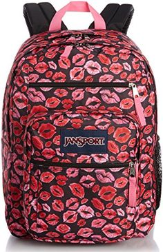 67a47e0db0 JanSport Big Student Classics Series Backpack BLACK KISS ME QUICK     Check  out this great product.