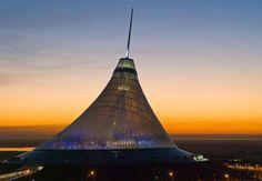 Khan Shatyr Shopping & Entertainment Center. Astana, Kazakhstan