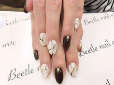 Nail Art - Beetle Nail : 八日市arte|大理石ネイル  #ネイル #アルテビートルネイル #ビートルネイル #ネイル東近江市