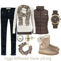 warm and cozy Ugg boots give them to me now and I mean now because if my friends saw me wearing them they would freak out. All my friends love bows and what a perfect way to ugg-onsale. Look Fashion, Fashion Women, Fashion Trends, Fashion Clothes, Fall Fashion, Fashion News, Fashion Shoes, Fall Winter Outfits, Autumn Winter Fashion