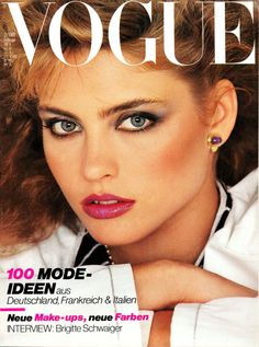 KIM ALEXIS |VOGUE GERMANY FEBRUARY,1980 COVER PHOTOGRAPHED BY JOHN STEMBER