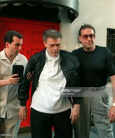 Chin Gigante and his sons Vincent Esposito (L), and Andrew Gigante. Vincent was arrested early 2018 for his alleged involvement in Union racketeering.