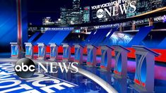 ABC News - WATCH: A look at ABC News' 2020 debate hall: The stage is set at Texas Southern University where the leading… - View Youtube Video Clips, Funny Video Clips, Videos Funny, Trump Immigration, Twitter Video, Screen Design, Presidential Candidates, Abc News, Over The Years