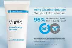 Murad Acne Clearing Solution Sample