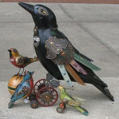 Neatorama » Blog Archive » Steampunk Birds by Jim Mullan