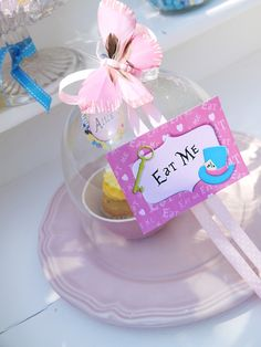 "Alice in Wonderland Inspired ""Un-Birthday"" Tea Party food - BirdsParty.com"