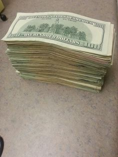 Its as easy for me to manifest money as it is looking at the ground for rocks