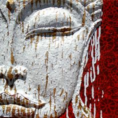 Amanda Bellino Artist sculptured on canvas Healing Meditation, Amanda, Buddha, Sculpture, Canvas, Artist, Artwork, Painting, Animals