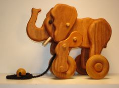 pull along wooden toy free patterns - Google Search