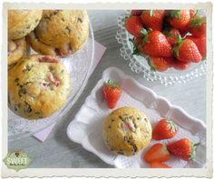 Sweet Mania: Muffins de fresa y gotas de chocolate