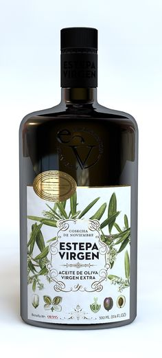 Estepa Virgen, olive oil #packaging AM