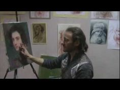▶ Курсы рисования для взрослых в Москве, обучение живописи - YouTube