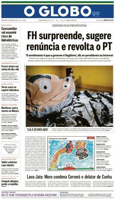Jornais brasileiros do dia 18 de agosto de 2015