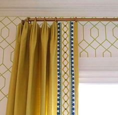 Browse through our extensive blinds and shades, drapery and curtains, drapery hardware, and wallpaper projects in our portfolio. Drapes And Blinds, Drapes Curtains, Window Blinds, Fabric Blinds, Cortinas Boho, Drapery Designs, Drapery Ideas, Curtain Ideas, Custom Drapes