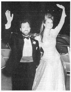 Billy Joel and Christie Brinkley Wedding Celebrity Wedding Rings, Celebrity Weddings, Wedding Bride, Our Wedding, Vintage Wedding Photos, Vintage Photos, Christie Brinkley, All In The Family, Out Of Touch