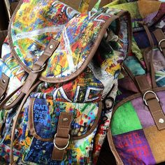 Mochilas School Rock by rvalentim