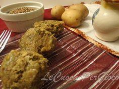 Polpette di Lenticchie con Fiocchi d'Avena | Ricetta non Fritta