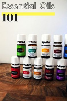 Essential Oils Introduction To Common Oils and Their Uses | Starter Kit For Healthy Family Home | Natural Wellness For Kids | Organic Pure Oils