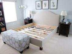 DIY Pottery Barn Bed Angle 1