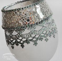 lampion mozaika Decoupage, Embroidery, Vintage, Decor, Easter Activities, Tutorials, Needlepoint, Decoration, Vintage Comics