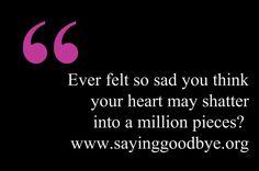 www.sayinggoodbye.org #Heart #Babyloss #Sadness