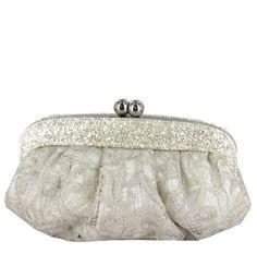Bolso de novia con pedrería de Menbur (ref. 83567) Bridal handbag by Menbur (ref. 83567)