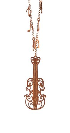 Colar Metal Violino | Acessórios | Antix Store