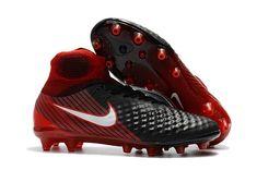 c27798ce Nike Magista Obra II AG Soccer Shoes Red Black on www.newsoccercleats.com