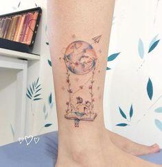 New book tattoo designs black white ideas Tattoo Kind, Tattoo Mama, Home Tattoo, Rn Tattoo, Mini Tattoos, Body Art Tattoos, Small Tattoos, Pretty Tattoos, Beautiful Tattoos
