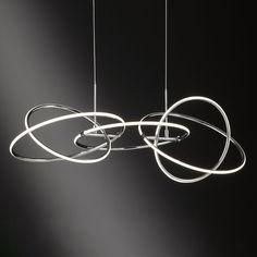 LED teknologien gør det muligt at skabe helt nye og spektakulære design 🔘💡 Ceiling Canopy, Spring, Fixation, Hanging Lights, Montage, Light Fixtures, Led Lamp, Round Glass, Granada
