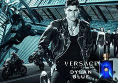Trevor Signorino   Versace Dylan Blue Fragrance Campaign   Photographed by Bruce Weber