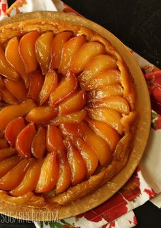 Pear Tarte Tatin-I'm not a tarte fan, but I would totally make an exception for this!