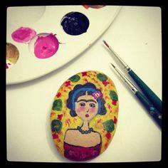 hem eğlenceli hem de kolay bir el işi çalışması taş boyama. ilham verici taş boyama örnekleri ve daha epk çok hobi çalışması 10marifet.org'da