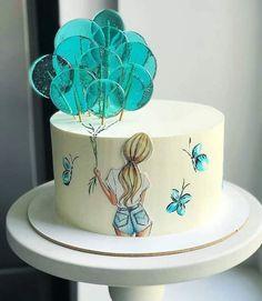 Cake Decorating Frosting, Creative Cake Decorating, Cake Decorating Videos, Birthday Cake Decorating, Cake Decorating Techniques, Creative Cakes, Creative Birthday Cakes, Beautiful Birthday Cakes, My Birthday Cake