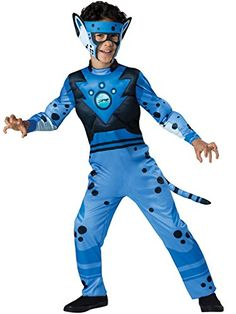 InCharacter Costumes Cheetah - Blue Costume, One Color, 4 -- For more information, visit image link.