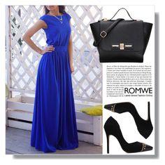 Romwe 3. / IX by amra-sarajlic on Polyvore featuring polyvore, fashion, style, Whiteley, clothing and romwe