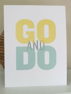 GO and DO!