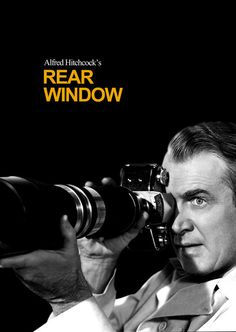 Rear Window starring James Stewart
