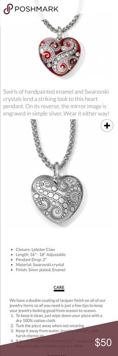 Bella love necklace by Brighton and W-2 and So beautiful – new with tags Brighton Jewelry Necklaces