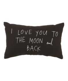 'To the Moon and Back' Pillow