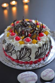 Birthday cake  Photo by  Paula's Recipes