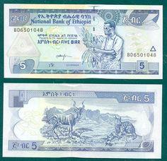 Birr, es la divisa oficial de Etiopía