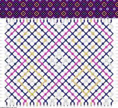 32 strings, 24 rows, 4 colors