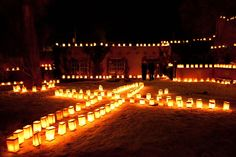 There are many holiday traditions in New Mexico. One of my favorites is the farolito walk on Christmas Eve in Santa Fe.