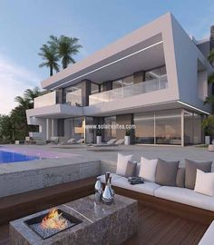 Project of modern style villa in the frontline, in Jávea (Spain). A small paradise on the coast. The house of your dreams...