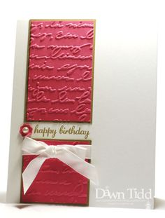 Happy Birthday by marmie43gs - Cards and Paper Crafts at Splitcoaststampers