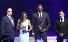 Bolt atleta dell'anno per la sesta volta: premiato insieme a Almaz Ayana