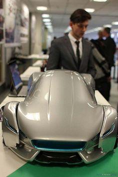 Jaguar Project GT-e by Daniel Pop